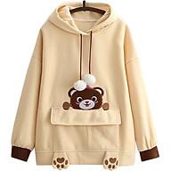Áo Khoác Hoodie Nữ Gấu Xinh 471 (Freesize) thumbnail