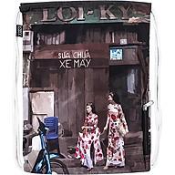 Túi Dây Rút XOX Backpack Áo Dài Góc Phố thumbnail