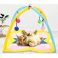 Lều Ngủ Có Bóng Đồ Chơi Cho Mèo thumbnail