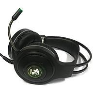 Tai nghe chơi game chụp tai (Headphone Gaming) V5000 Led Đổi Màu thumbnail