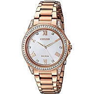 Drive From Citizen Eco-Drive Women s Watch with Crystal Accents, EM0233-51A thumbnail