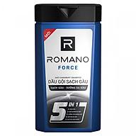 Dầu gội cao cấp Romano Force Antidandruff mạnh mẽ tự tin loại bỏ & ngăn gàu trở lại 180gr thumbnail