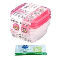 Hộp Chia Đồ Ăn Dặm Cho Bé Dùng Được Lò Vi Sóng 90ml Nhật Bản (3 Hộp) + Tặng Trà Sữa Matcha Cafe Macca Cực Ngon thumbnail
