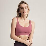 Áo Bra thể thao nữ, áo tập Gym Yoga mềm mịn, có đệm, kiểu áo lót mỏng mã WX-042 thumbnail