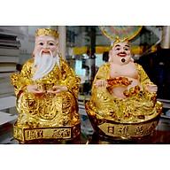 Bộ tượng hai ông Thần Tài Thổ Địa kim sa-Nhiều cỡ thumbnail