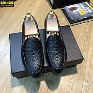Video Test Lửa Giày Lười Nam Da Bò Thật Dập Vân Cá Sấu Thời Trang - Băng Cánh Én - Đế Cao Su Đúc Cao 3cm - Mã K8839 thumbnail