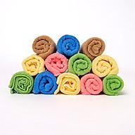 Combo 12 khăn rửa mặt Cotton hàng xuất Nhật - Chính hãng thumbnail