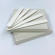 Set 50 cây dũa móng tay mini trắng - độ nhám 120 120 thumbnail