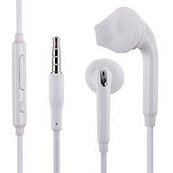 Tai nghe Ibesky dành cho Samsung Galaxy S6 S7 Note 5 (Trắng) + Tặng kèm cặp nút bọc tai nghe - Hàng Chính Hãng thumbnail