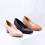 Giày cao gót công sở nữ 5cm gót chống xước thumbnail