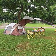 Lều picnic tự bật thông minh chống thấm cho 3-4 người có mái che tăng không gian vui chơi GL1262 màu nâu thumbnail