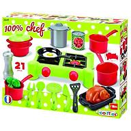 Đồ chơi Mô hình ECOIFFIER Bộ bếp nấu ăn 002649 thumbnail