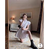Đầm dự tiệc dáng suông đẹp cao cấp, lai váy xếp ly nhúng xinh yêu FASHION2021 thumbnail