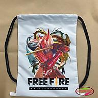 [FREE FIRE] Balo dây rút chất liệu vải dù siêu đẹp in hình Quỷ kiếm dạ xoa thumbnail