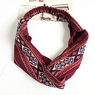 Hair Band Hair Hoop Elegant Elastic Flowers Girl Jewelry Accessorie - Wine Red thumbnail
