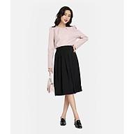 HNOSS Váy xếp ly lưng thun 65% Coton 35% Polyester BAC12012017 thumbnail