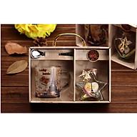 Hộp quà lưu niệm cốc pha cafe paris phát sáng thumbnail