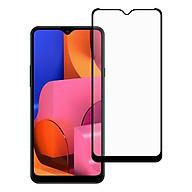 Miếng Dán Kính Cường Lực cho Samsung Galaxy A20S - Full màn hình - Màu Đen - Hàng Chính Hãng thumbnail