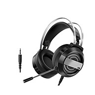 Q9 Gaming Headset 7.1 Channel Stereo Gaming Headset with 360 Noise Reduction Microphone 7-color Breathing Light White thumbnail