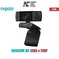 Webcam Rapoo C200 Độ Phân Giải HD 720P - Hàng Chính Hãng thumbnail