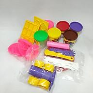 Bột Nặn Hình Bánh Kem 6 Màu 480g + Bộ Dụng Cụ DA12011 Donerland Korea thumbnail