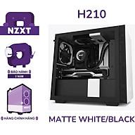 Vỏ Case Máy Tính NZXT H210 Màu Trắng Đen- Hàng Chính Hãng thumbnail