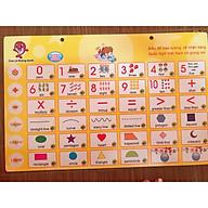 Combo 5 chủ đề Bảng điện tử song ngữ Anh - Việt cho bé BSR06 thumbnail