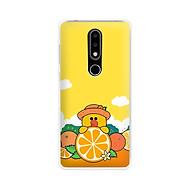 Ốp lưng dẻo cho điện thoại Nokia 6.1 plus X6 - 01171 7881 SALLY03 - in hình Vịt Sally ngộ nghĩnh - Hàng Chính Hãng thumbnail