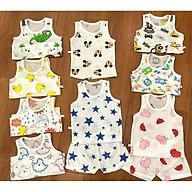 Bộ cotton giấy thông hơi Xuất Nhật cho bé (BỘ 3 LỖ) thumbnail
