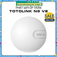 Thiết bị phát Wi-Fi ốp trần Totolink N9 V2 chuẩn N 300Mbps- Hàng Chính Hãng thumbnail