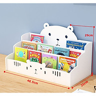 HOT HOT HOT] Kệ sách để bàn hình con vật siêu xinh cho bé trai và bé gái TXT01 thumbnail