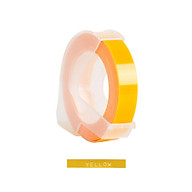 3D Plastic Embossing Label Tape Refill for DYMO 12965 1610 Label Maker with 3 8 Inch 9.8 feet, 1 Roll Yellow thumbnail