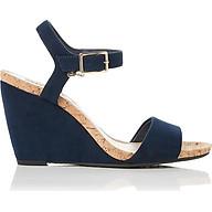 Giày Đế Xuồng Nữ Dune London Casual Sandals - Navy-Synthetic thumbnail