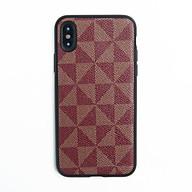Ốp lưng điện thoại iPhone X XS Dada dẻo vân caro - Hàng chính hãng thumbnail