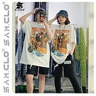 Áo thun in loang SAM CLO ulzzang nam nữ tay lỡ freesize phông form rộng dáng Unisex, mặc lớp, nhóm,cặp hình TRAVIS SCOTT thumbnail