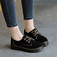 Giày Nữ Đế cao Da Lộn Siêu Đẹp Hàng Quảng Châu B56 - Mery Shoes thumbnail