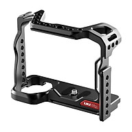 UURig R063 Upgraded Camera Video Cage Aluminum Alloy with ARRI Locating Hole Dual Cold Shoe Mounts Arca Swiss QR Bottom thumbnail