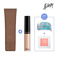 Combo Bừng sáng 01 Last Skin Foudation 50ml + 01 Concealer 01 Light Beige 6.2g tặng 01 Highlighter thumbnail