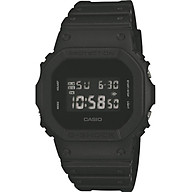 Casio - Men s Watches - Casio G-Shock - Dw-5600Bb-1Er Monotone Matte Black Watch thumbnail