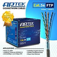 Cáp mạng APTek CAT.5e FTP Copper 305m (530-2113-2) - Hàng Chính Hãng thumbnail