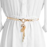 Thắt lưng nữ hồ ly đính đá hình lá dễ thương thời trang Hàn Quốc TTL01 thumbnail