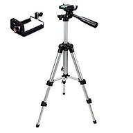 SIÊU HOT- Giá đỡ 3 chân máy chụp ảnh Tripod TF-3110 + Miếng kẹp điện thoại thumbnail