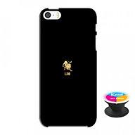 Ốp lưng nhựa dẻo dành cho iPhone 5S tặng popsocket in logo iCase - in hình leo thumbnail