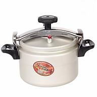 Nồi Áp Suất Cơ Anod Nhôm Đáy Từ Dùng Mọi Bếp Living Cook LC-AS22 (22cm - 5 lít) - Chính Hãng thumbnail