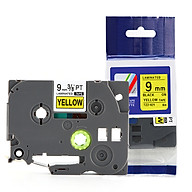 Nhãn TZ2-621 tiêu chuẩn - Chữ đen trên nền vàng 9mm - Hàng nhập khẩu thumbnail