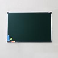 Bảng từ xanh viết phấn Hàn Quốc 60x80cm (Tặng hộp phấn,nam châm) thumbnail