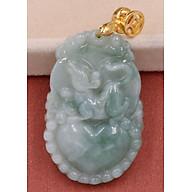 Mặt dây chuyền khắc linh vật 12 con Giáp đá cẩm thạch - Tốt cho vận khí, sức khỏe, tiền tài thumbnail