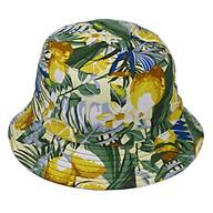 Nón bucket đi biển hoạt tiết quả chanh hoa lá độc đáo, mang đến phong cách thư giản cho người đội - Hạnh Dương thumbnail