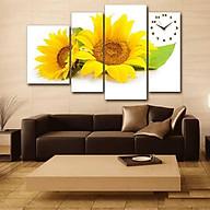 Tranh Đồng hồ hoa hướng dương TDH28 thumbnail