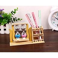 Đồng hồ cát đôi kèm hộp đựng bút - Màu giao ngẫu nhiên thumbnail